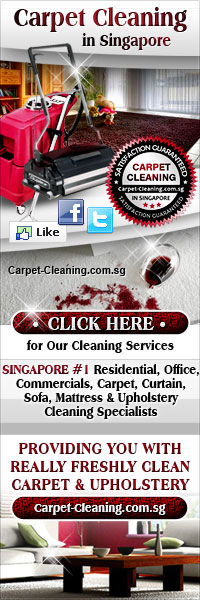 Singapore #1 Carpet, Upholstery Cleaning Services For Both Residentials & Commercials