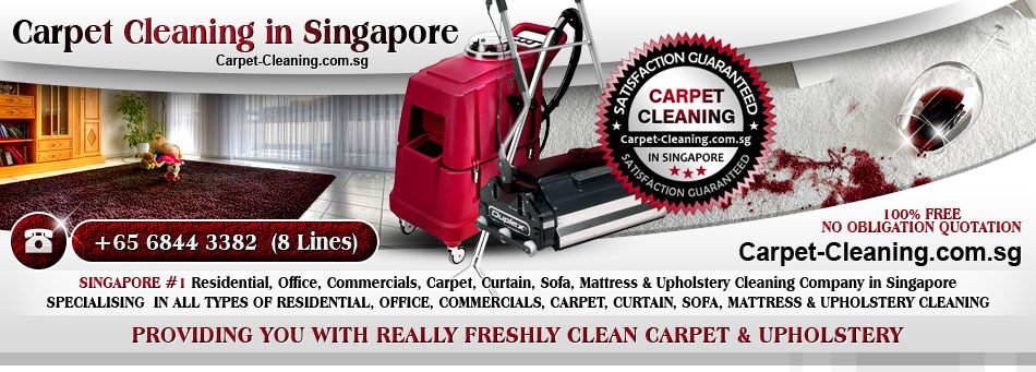 Carpet-Cleaning.com.sg -  Singapore #1 Residential, Office, Commercials, Carpet, Curtain, Sofa, Mattress & Upholstery Cleaning Company in Singapore. Specialising  in all types of Residential, Office, Commercials, Carpet, Curtain, Sofa, Mattress & Upholstery Cleaning. Carpet-Cleaning.com.sg - Providing You With Really Freshly Clean Carpet & Upholstery