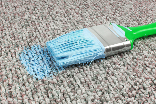 Remove Dry Paint From Carpet