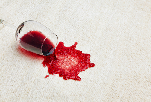 How To Remove Wine Stains On Carpet