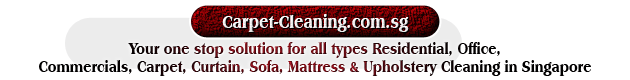 Your one stop solution for all types Residential, Office, Commercials, Carpet, Curtain, Sofa, Mattress & Upholstery Cleaning in Singapore