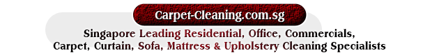 Singapore Leading Residential, Office, Commercials, Carpet, Curtain, Sofa, Mattress & Upholstery Cleaning Specialists