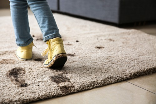 Dirty carpet can be dangerous