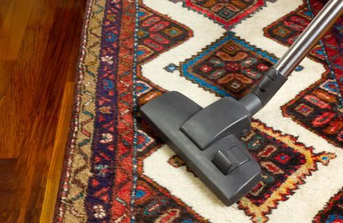 vacuum-rug-regularly