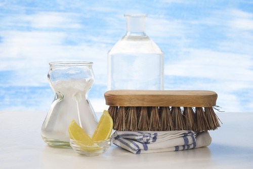 Using baking soda for carpet cleaning