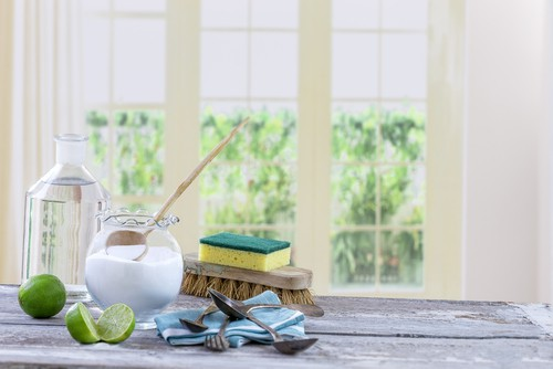Homemade cleaning solution