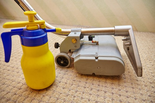 Chemical carpet cleaning
