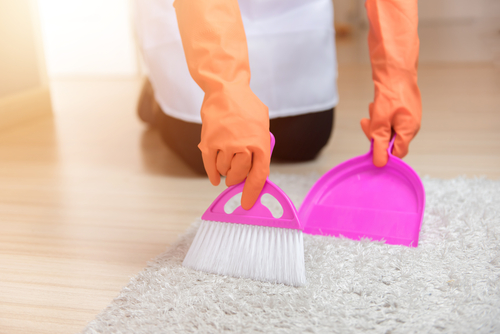 How To Clean Carpet Floor Without A Vacuum?